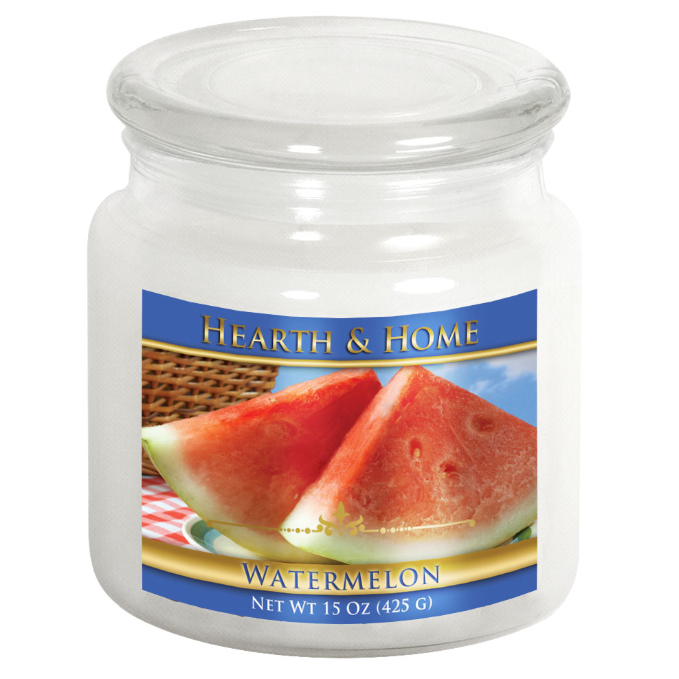 Watermelon - Medium Jar Candle