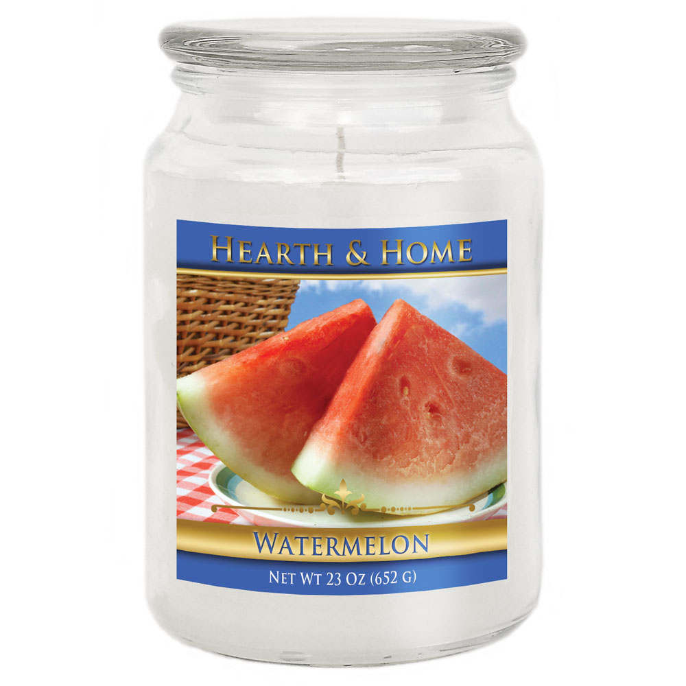 Watermelon - Large Jar Candle