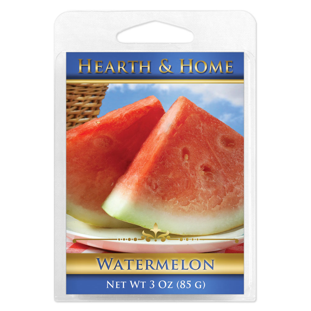 Watermelon Scented Wax Melt Cubes - 6 Pack