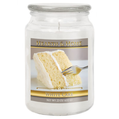 White Cake - Large Jar Candle