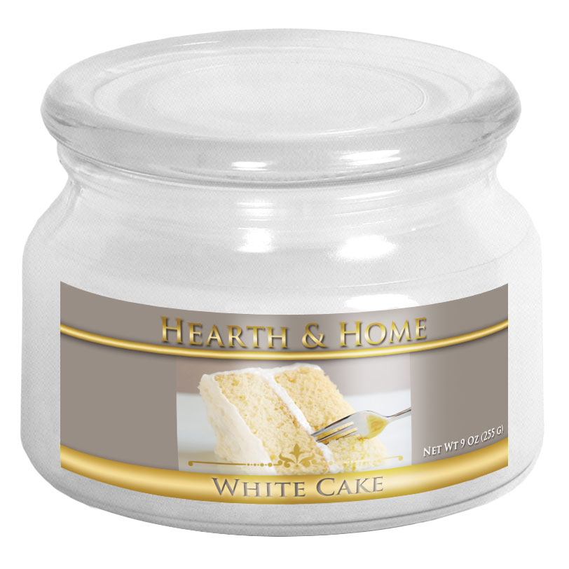 White Cake - Small Jar Candle