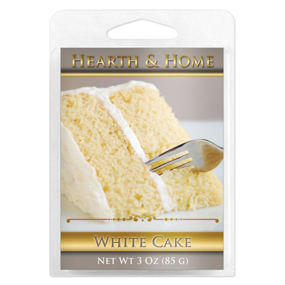 White Cake Scented Wax Melt Cubes - 6 Pack