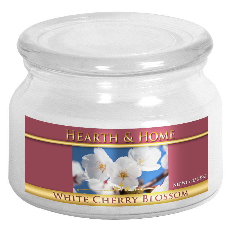 White Cherry Blossom - Small Jar Candle
