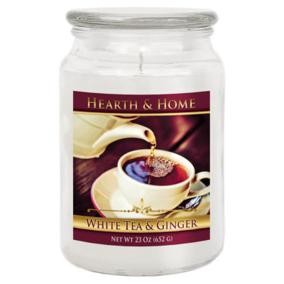 White Tea & Ginger - Large Jar Candle