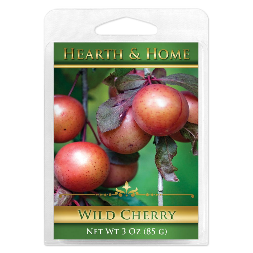 Wild Cherry Scented Wax Melt Cubes - 6 Pack