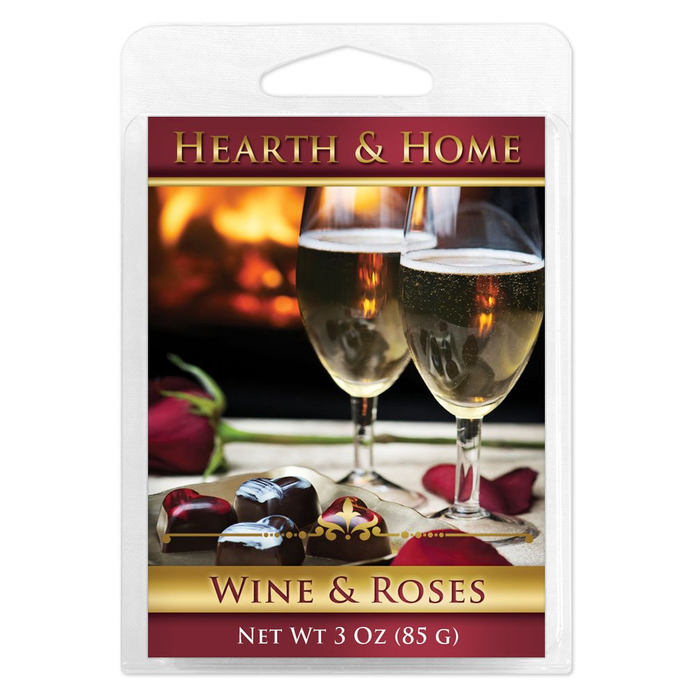 Wine & Roses Scented Wax Melt Cubes - 6 Pack